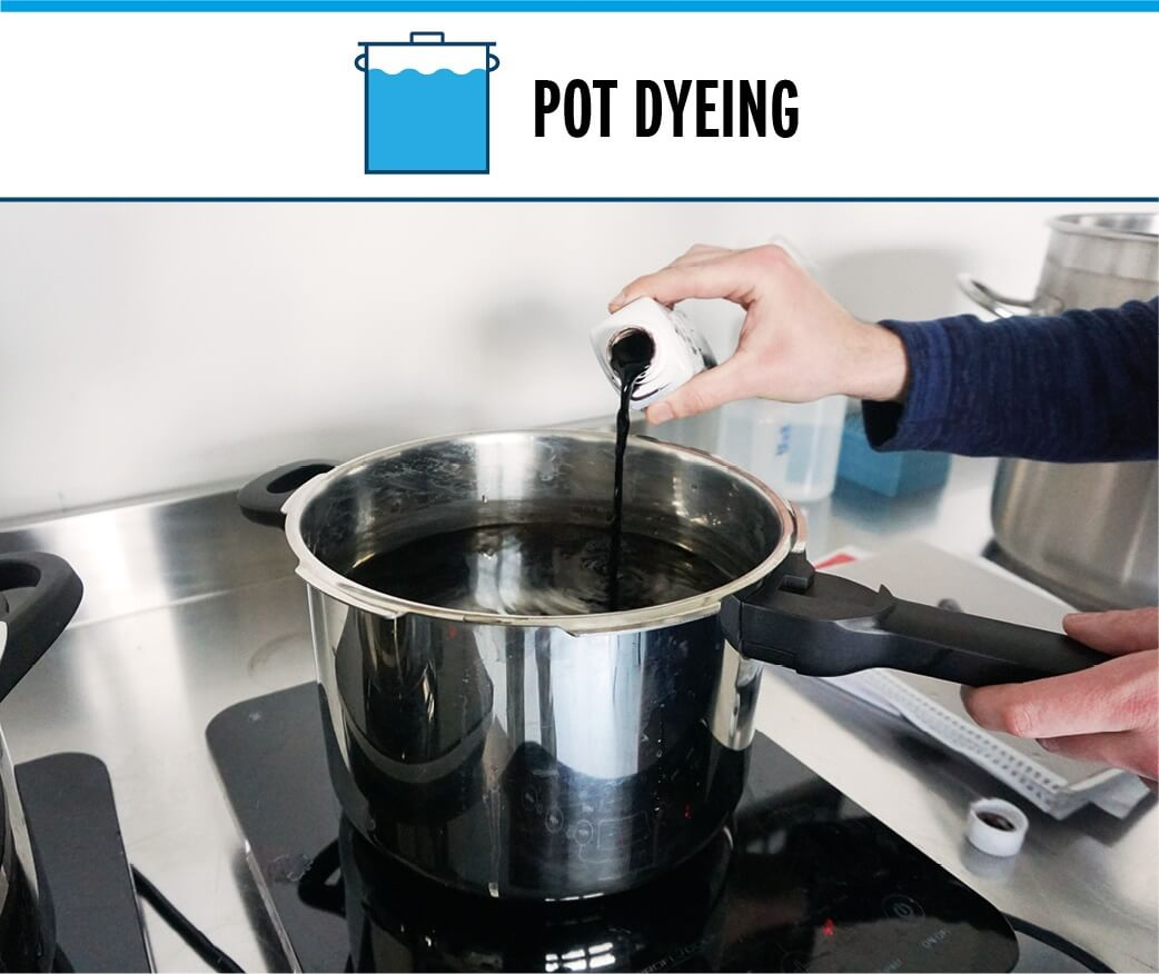 Pot Dyeing