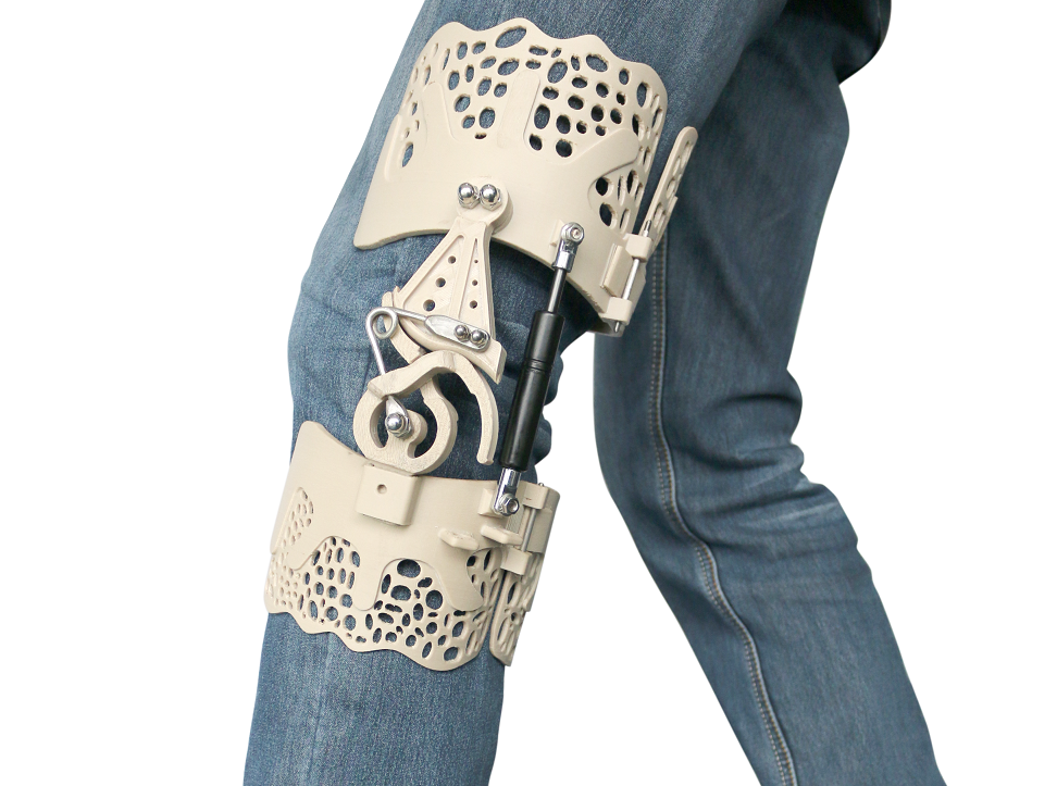 Pioneering The PEEK 3D Printing of Bionic Knee Brace