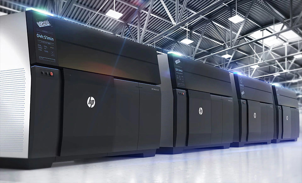 Preview of the new HP Metal Jet 3D Printers