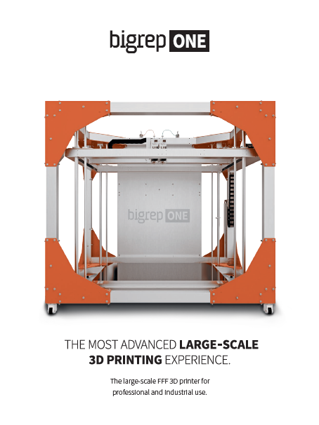 Brochure: BigRep ONE 3D Printer