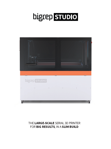 Brochure: BigRep STUDIO 3D Printer