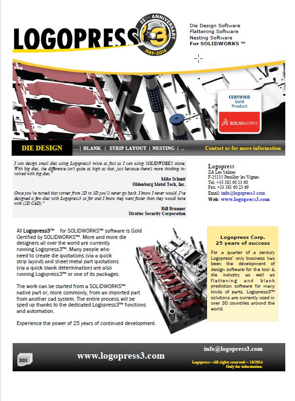 LogoPress3 Data Sheet