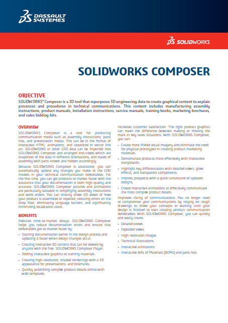 SOLIDWORKS Composer 2018