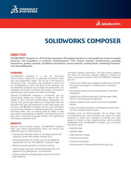 SOLIDWORKS Composer 2018