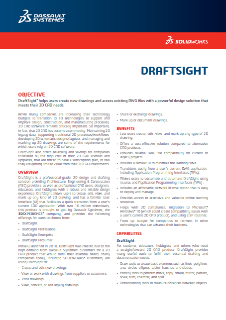 DraftSight 2018