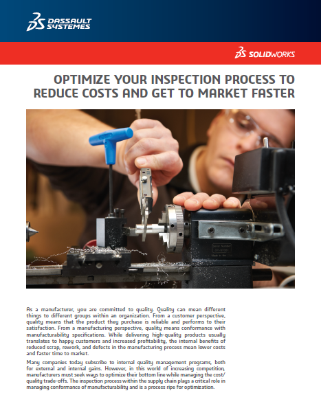 Optimize your Inspection process