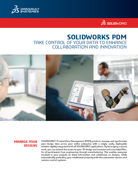 SOLIDWORKS PDM Data Sheet