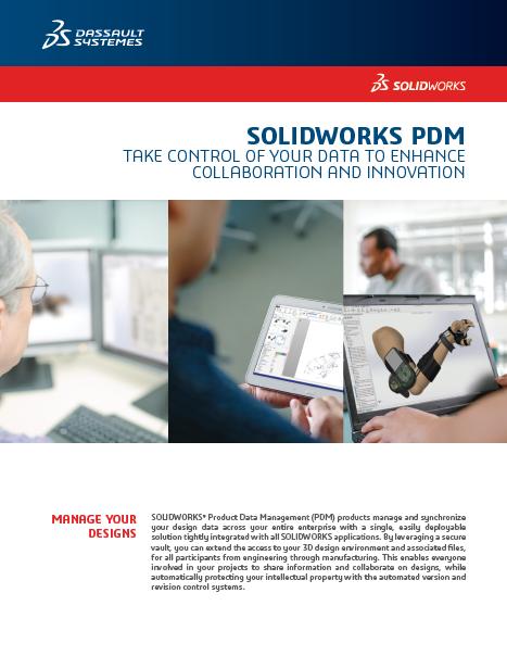 SOLIDWORKS PDM Data Sheet