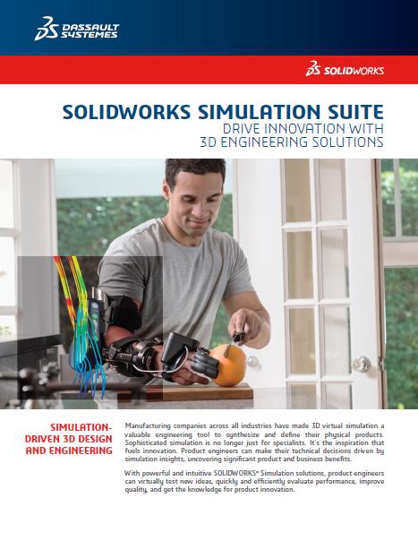 SOLIDWORKS Simulation Data Sheet