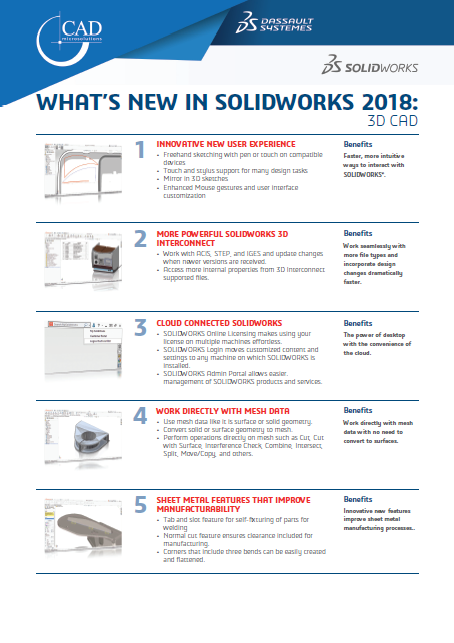 SOLIDWORKS 3D CAD | CAD MicroSolutions