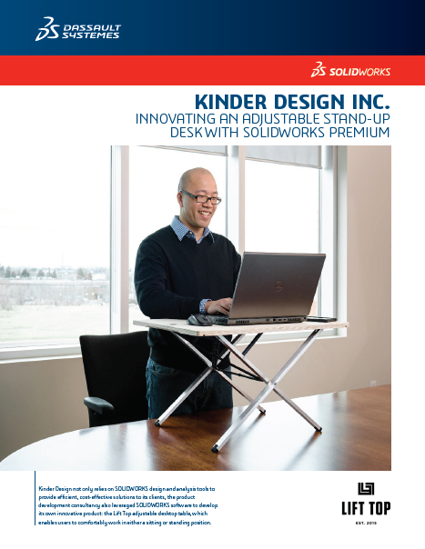 Kinder Design SOLIDWORKS Case Study