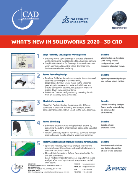 What's new in SOLIDWORKS 2020