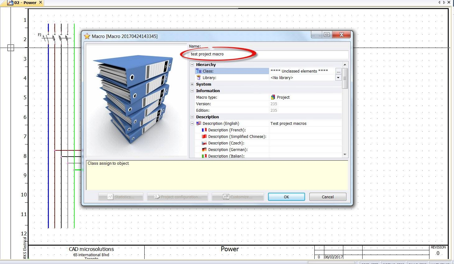 Solidworks Electrical Data Reuse capabilities
