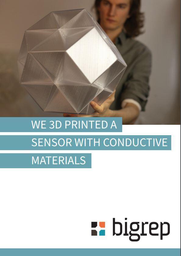 Case Study: BigRep 3D Printed a Sensor with Conductive Materials