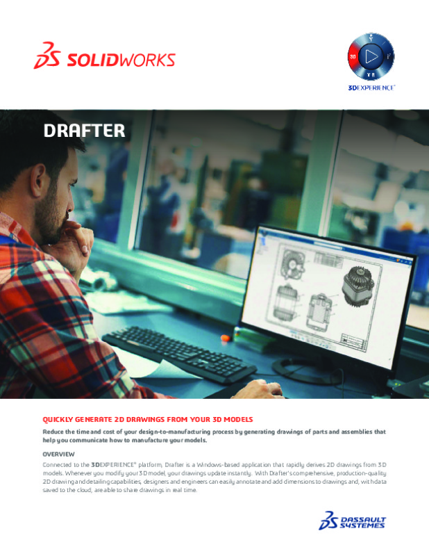 SolidWorks Drafter Datasheet