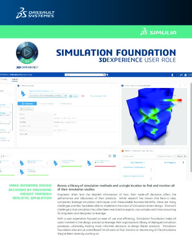 Simulation Foundation Datasheet