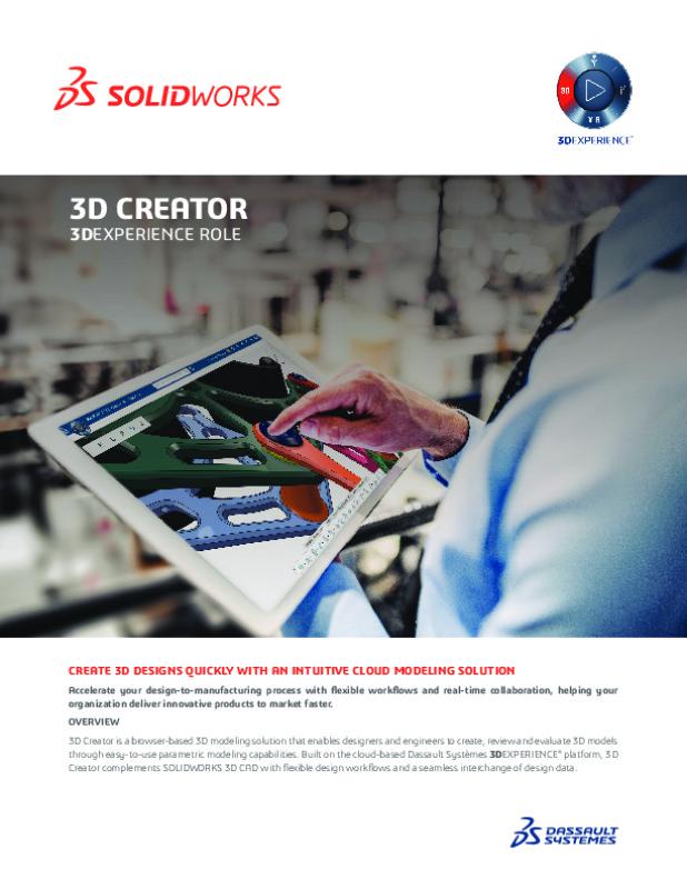3D Creator Datasheet