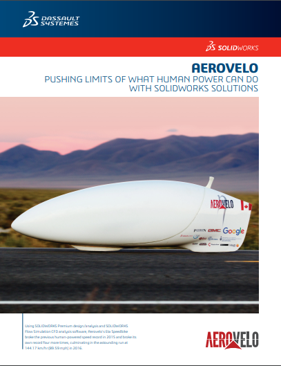Aerovelo: Pushing The Limits of what Human Power can do with SOLIDWORKS Solutions